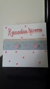 Learn card making for Ramadan