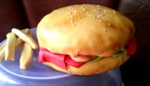 Sugacraft Burger Cakes
