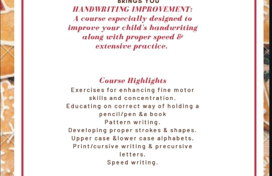 handwriting improvement in doha